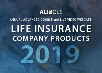 Life Insurance Company Products 2019