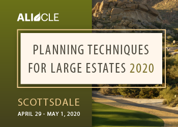 Planning Techniques for Large Estates 2020