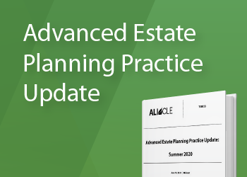Advanced Estate Planning Update: Free Course Materials